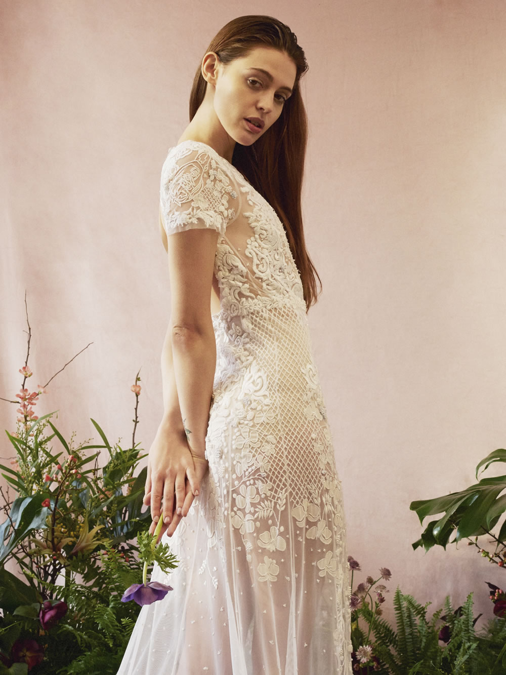 Botanical Heirloom Art Bridal Couture Ready To Wear By Hermione De Paula