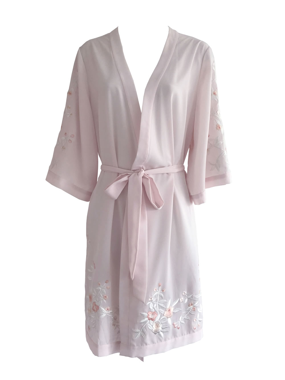 Pink Rose Robe HdeP Bridal Pink Rose Robe 3